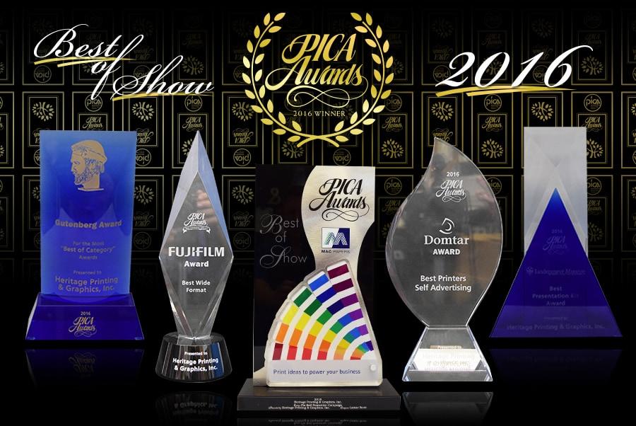 2016 PICA Best of Show Award Winner