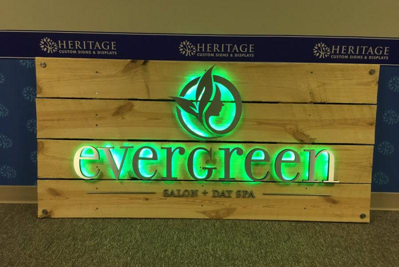 Backlit Lobby Signs