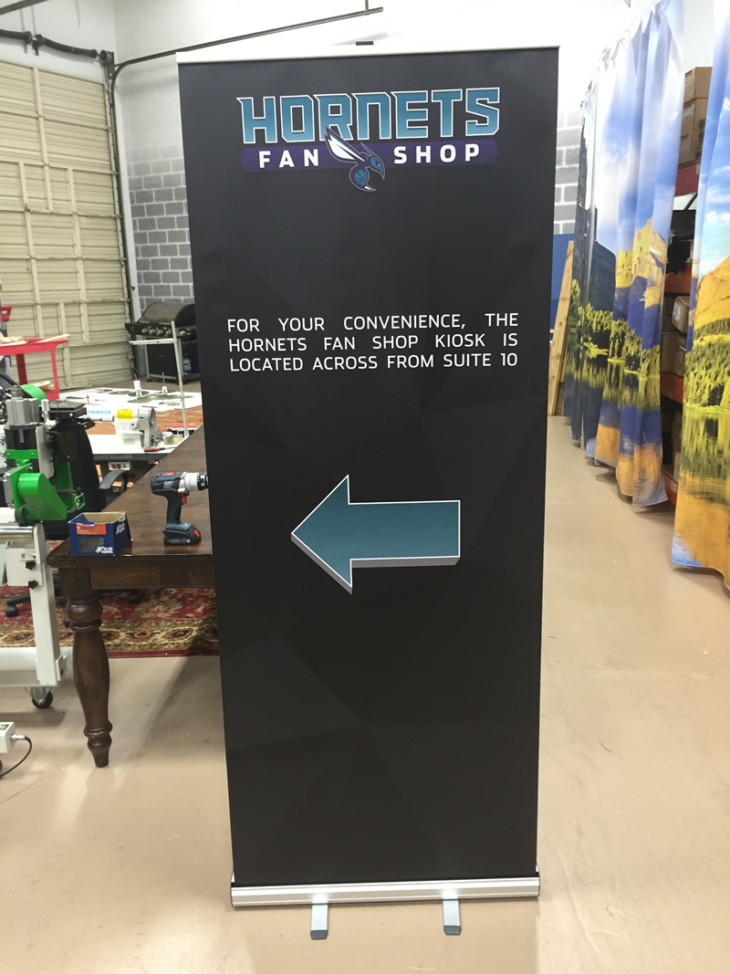 how to make a retractable banner