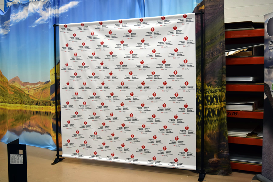 Step and Repeat Banner Charlotte NC