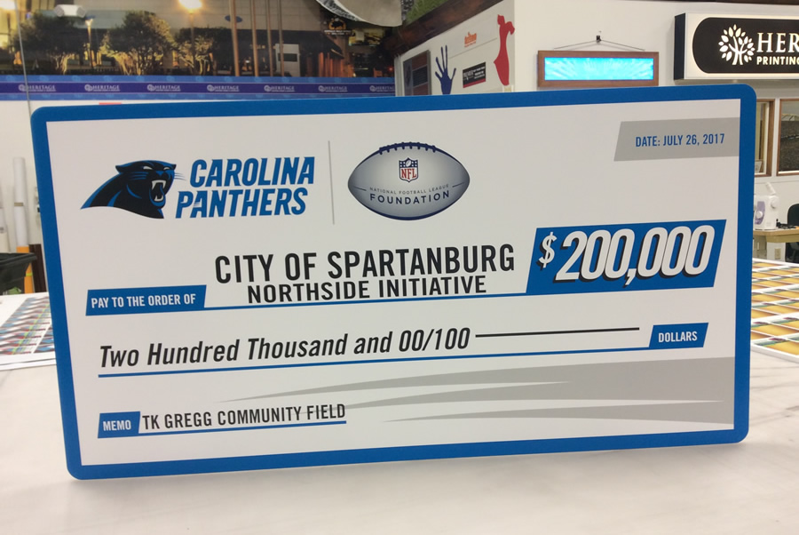 BIG Check Charlotte NC