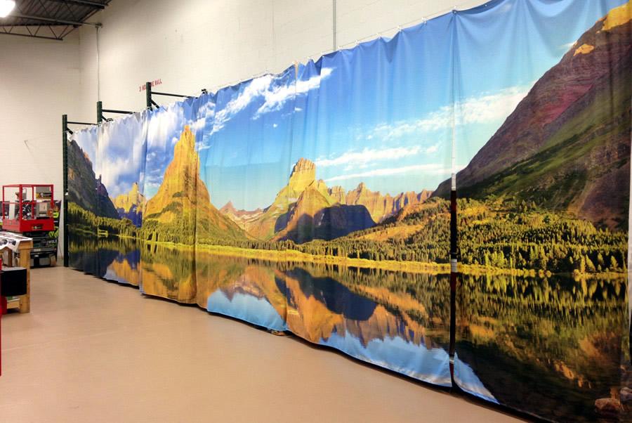 Custom Printed Curtains Charlotte
