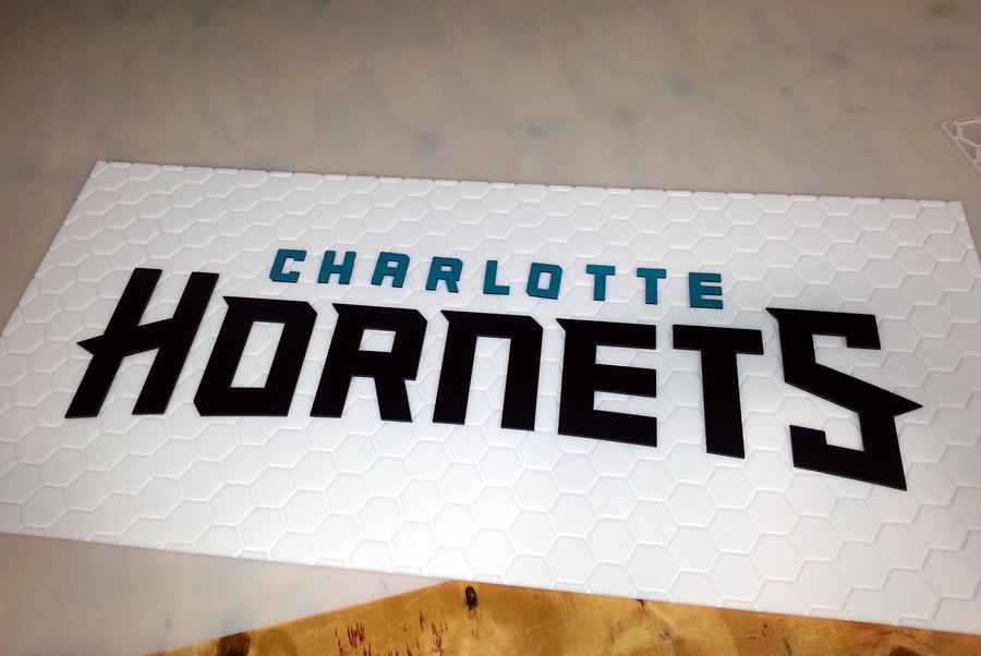 Dimensional Letters Charlotte