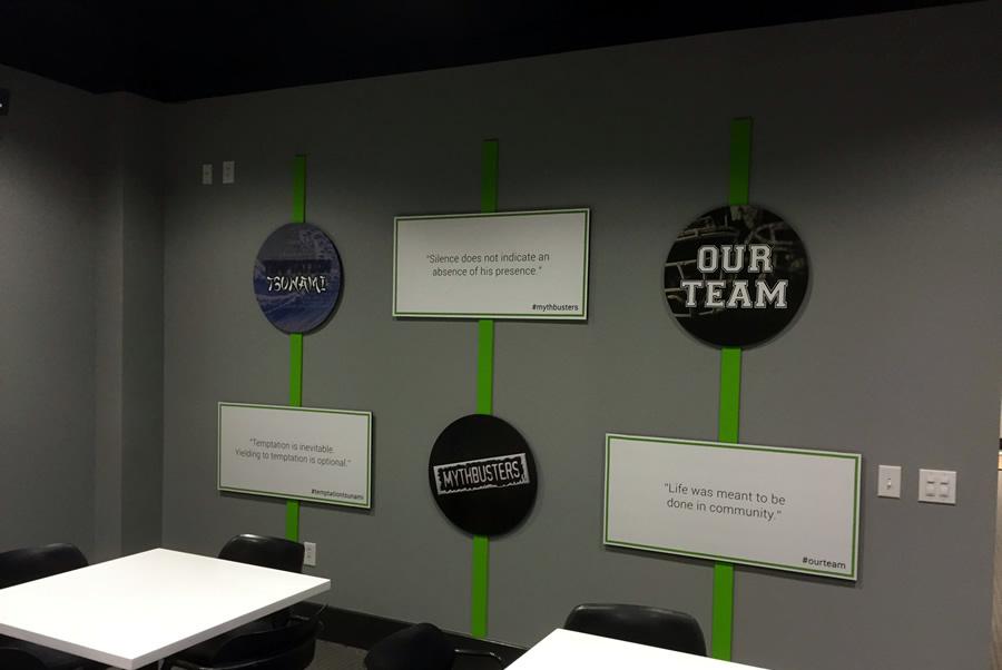 Corporate Interior Wallscapes Charlotte