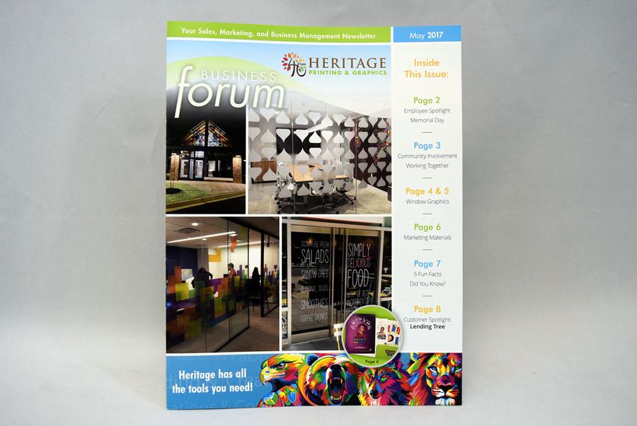 Non-Profit Magazine Printing Charlotte