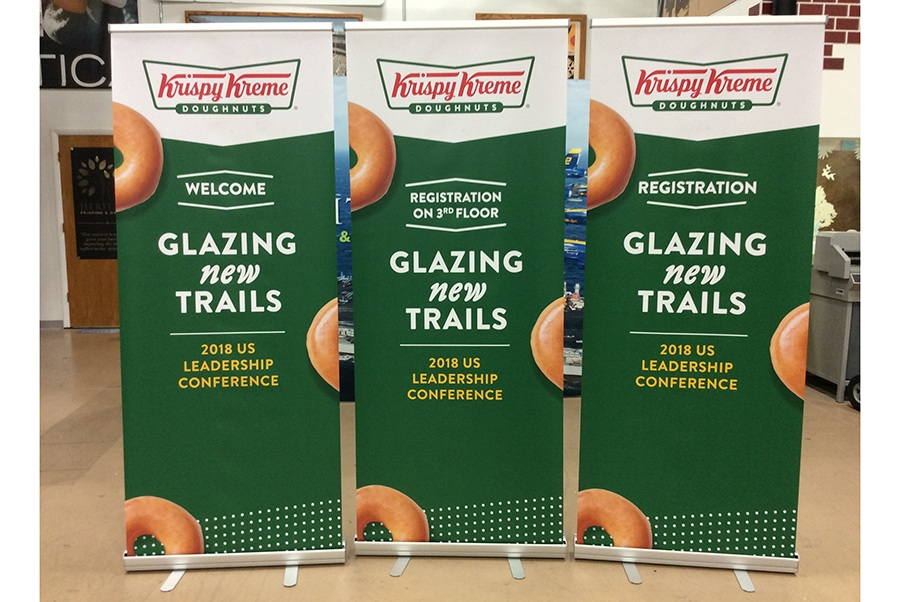 Retractable Banner Stands Charlotte