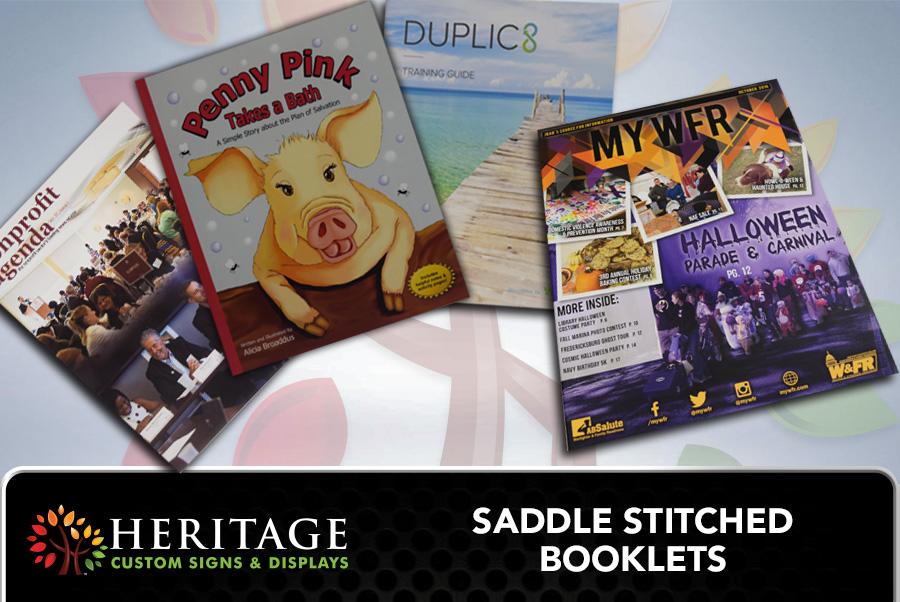 Saddle Stitched Booklets Charlotte