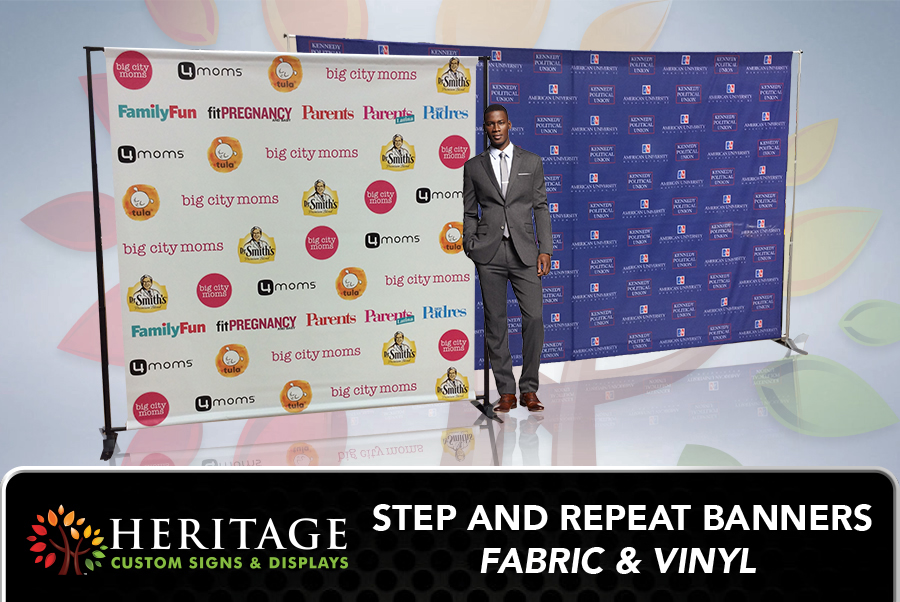 Vinyl Step and Repeat Charlotte