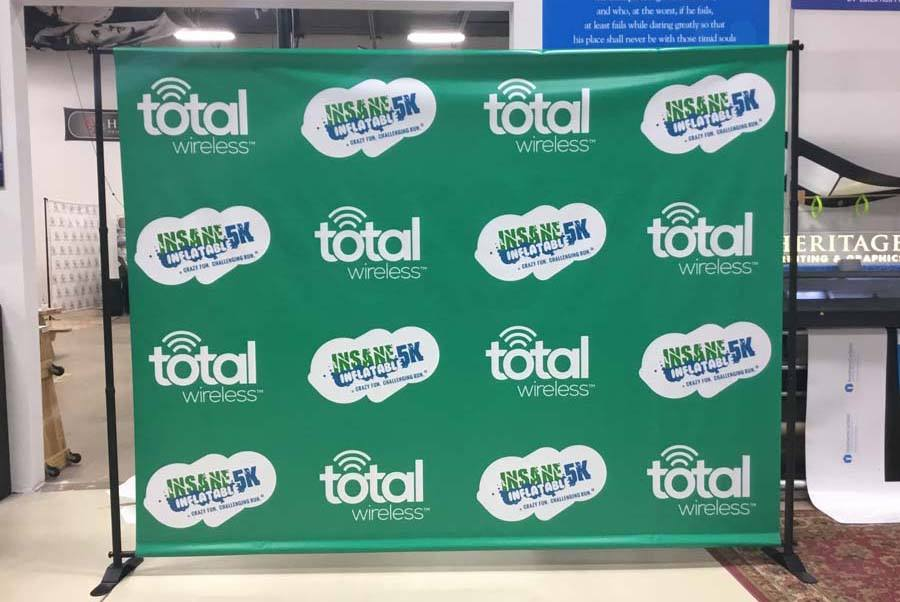 Step and Repeat Backdrops Charlotte