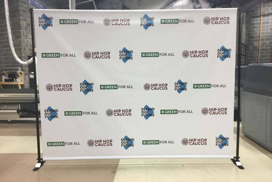 Step and Repeat Banner Charlotte