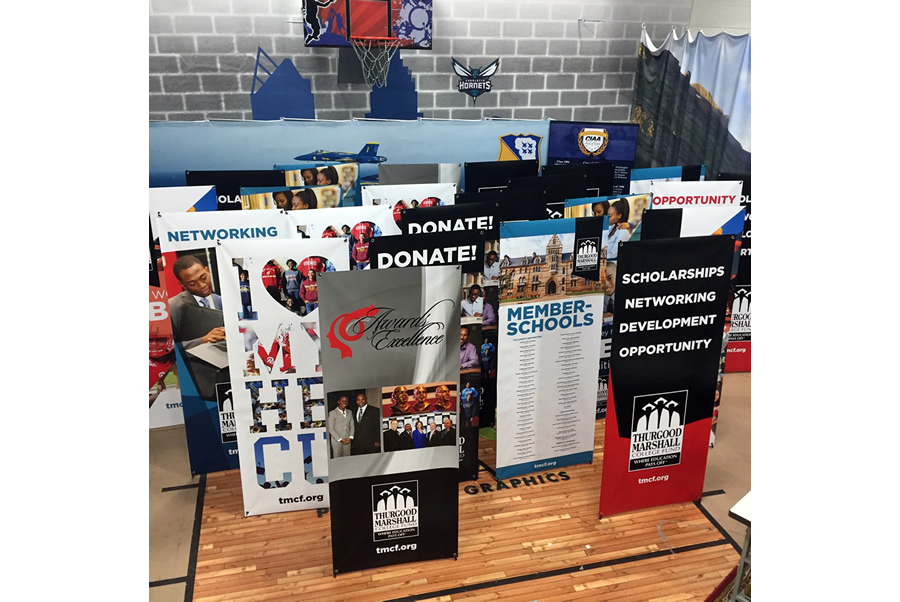 X Banner Stands Charlotte